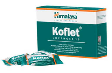 Himalaya Koflet Lozenges Pack Of 6