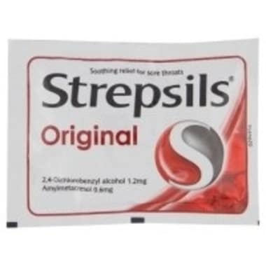 Strepsils Lozenges Original
