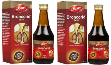 Dabur Broncorid Syrup Pack Of 2