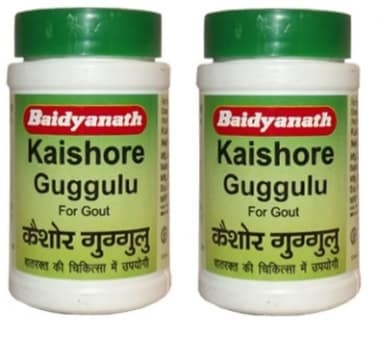 Baidyanath Kaishore Guggulu Tablet Pack Of 2