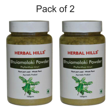 Herbal Hills Bhuiamlaki Powder Pack Of 2