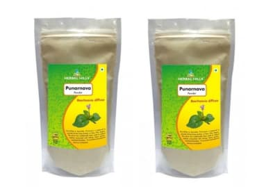 Herbal Hills Punarnava Powder Pack Of 2