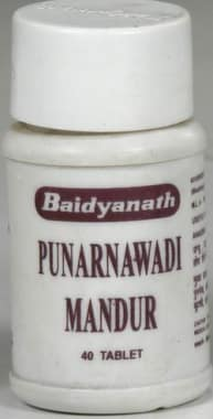 Baidyanath Punarnawadi Mandur Tablet