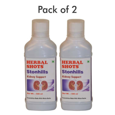 Herbal Shots Of Stonhills Pack Of 2