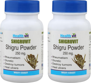 Healthvit Shigruvit 250mg Capsule Pack Of 2