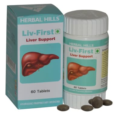 Herbal Hills Liv First Tablet