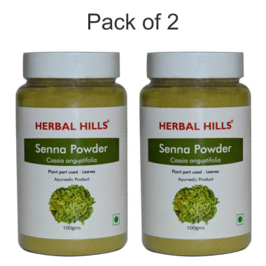 Herbal Hills Senna Powder Pack Of 2