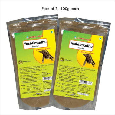 Herbal Hills Yashtimadhu Powder Pack Of 2
