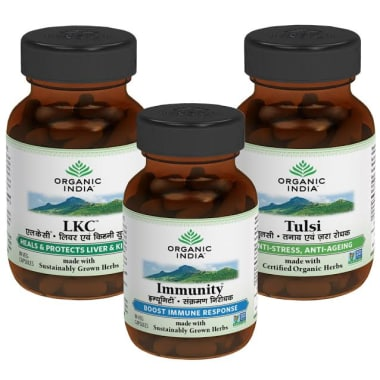 Organic India Healthy Liver Detox Kit