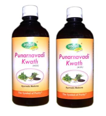 Swadeshi Punarnavadi Kwath Pack Of 2