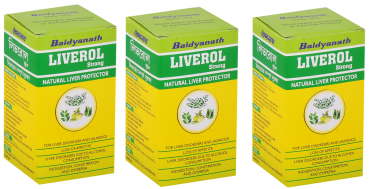 Baidyanath Liverol Strong Tablet Pack Of 3