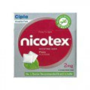 Nicotex 2mg Chewing Gums Paan