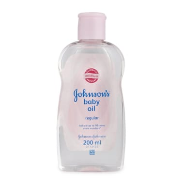 Johnsons Baby Oil With Vitamin E