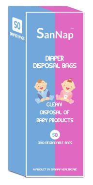 Sannap Baby Diaper Disposal Bags
