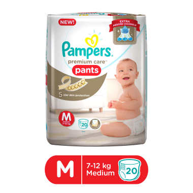 Pampers Premium Care Pants Diaper M