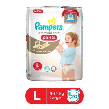 Pampers Premium Care Pants Diaper L