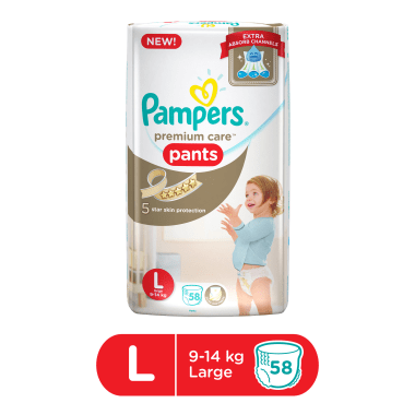 Pampers Premium Care Pants Diaper L