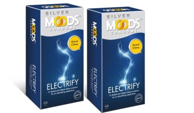 Moods Silver Electrify Condom Pack Of 2