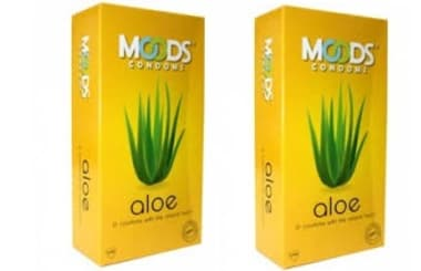 Moods Aloe Condom Pack Of 2