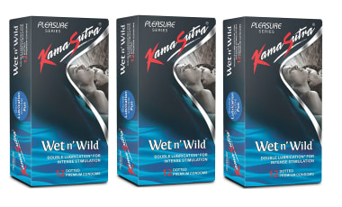 Kamasutra Wet N Wild Condom Pack Of 3