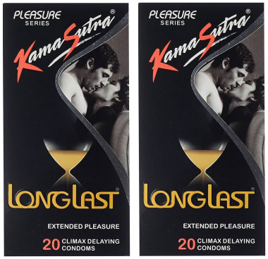 Kamasutra Pleasure Series Longlast Condom Pack Of 2