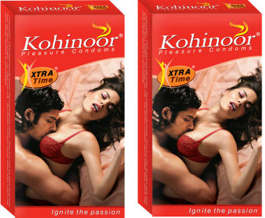 Kohinoor Xtra Time Condom Pack Of 2