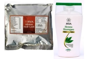 Jiva Henna Hair Care-100gm With Henna Shampoo-100ml
