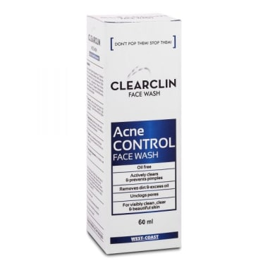 Clearclin Acne Control Face Wash