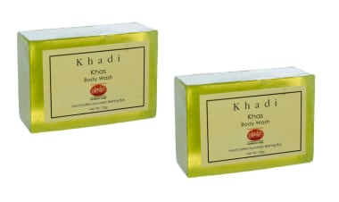 Khadi Mauri Herbal Khas Soap Pack Of 2