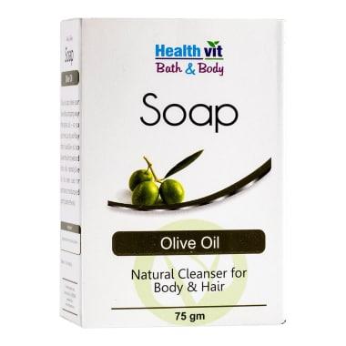 Healthvit Bath & Body Olive Oil Soap