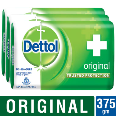 Dettol Original 125gm Soap Pack Of 3