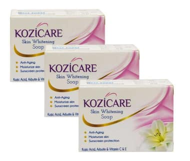 Kozicare Skin Whitening Soap (pack Of 3)