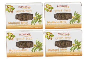 Patanjali Ayurveda Multani Mitti Body Cleanser Pack Of 4
