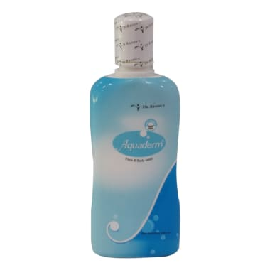 Aquaderm Face & Body Wash Liquid
