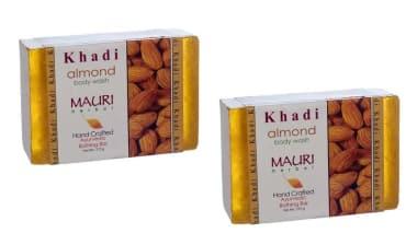 Khadi Mauri Herbal Almond Soap Pack Of 2
