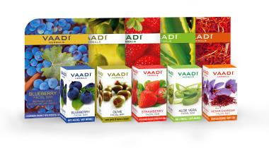 Vaadi Herbals Assorted Pack Of 5 Facial Bars(25gm)
