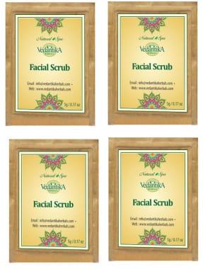 Vedantika Herbals Facial Scrub Pack Of 4