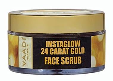 Vaadi Herbals 24 Carat Gold Scrub - Sandalwood & Turmeric
