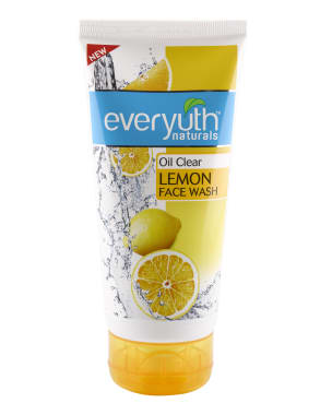 Everyuth Naturals Oil Clear Lemowith Nano Vita-c Face Wash