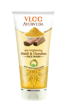 Vlcc Ayurveda Skin Brightening Haldi & Chandan Face Wash Pack Of 2