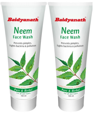 Baidyanath Neem Face Wash Pack Of 2