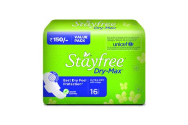Stayfree Dry-max Ultra Dry Pads