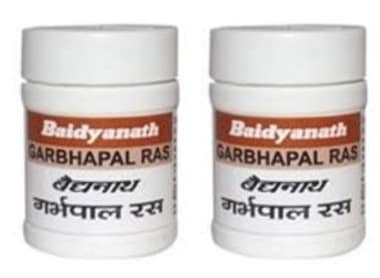 Baidyanath Garbhpal Ras Tablet Pack Of 2