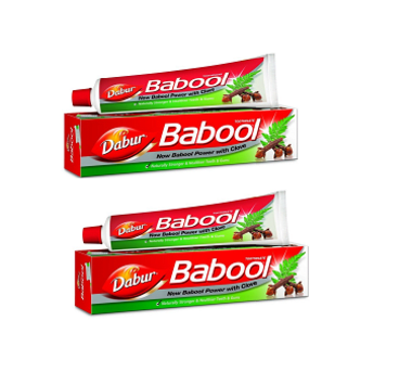 Dabur Babool Toothpaste Pack Of 2
