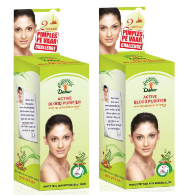 Dabur Active Blood Purifier Syrup Pack Of 2