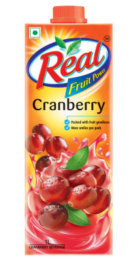 Dabur Real Fruit Power Cranberry