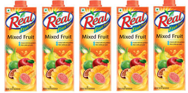 Dabur Real Fruit Power Mixed Fruit Pack Of 5