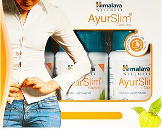 Himalaya Wellness Ayurslim Weight Management Capsule Pack Of 3