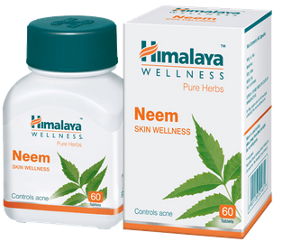 Himalaya Wellness Pure Herbs Neem Skin Wellness Tablet Pack Of 3
