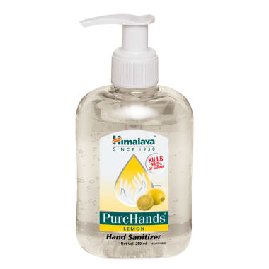 Himalaya Wellness Pure Hands Sanitizer Lemon